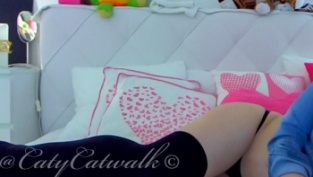 CatyCatwalk amatuer cam girl to skype sex
