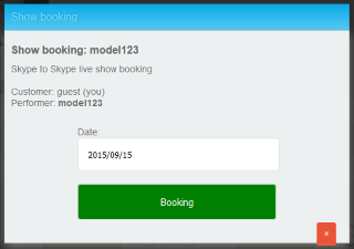 booking window